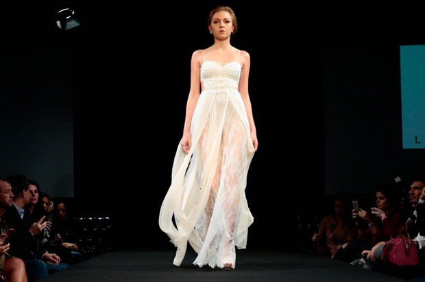 Vestido de Lethicia Bronstein que Luísa Sonza usará em sua festa de casamento  (Foto: Divulgação)