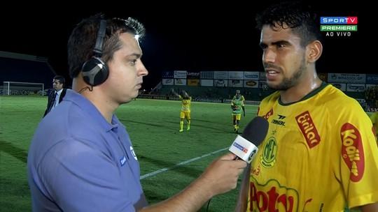 Zé Roberto vibra com vitória sobre o São Bento e superação após mau momento