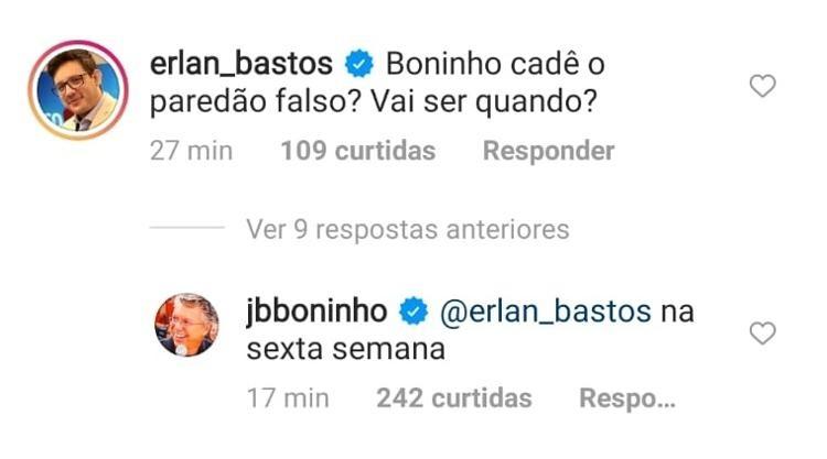 Boninho revela data de paredão falso no BBB21 (Foto: Reprodução Instagram)