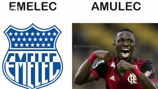 É alegre que fala, né? Vinicius Junior elege os melhores memes da vitória na Liberta