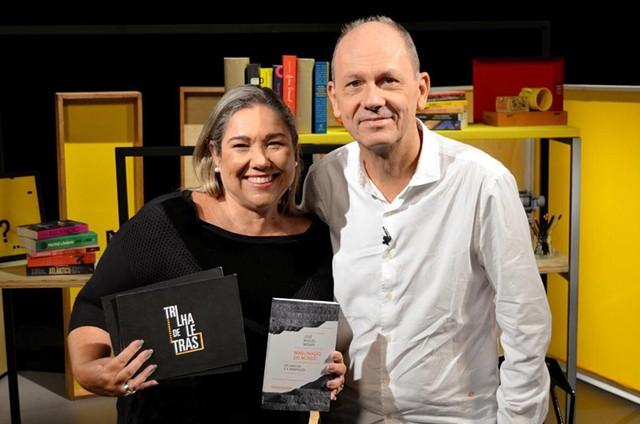 Katy Navarro e José Miguel Wisnick (Foto: Divulgação)