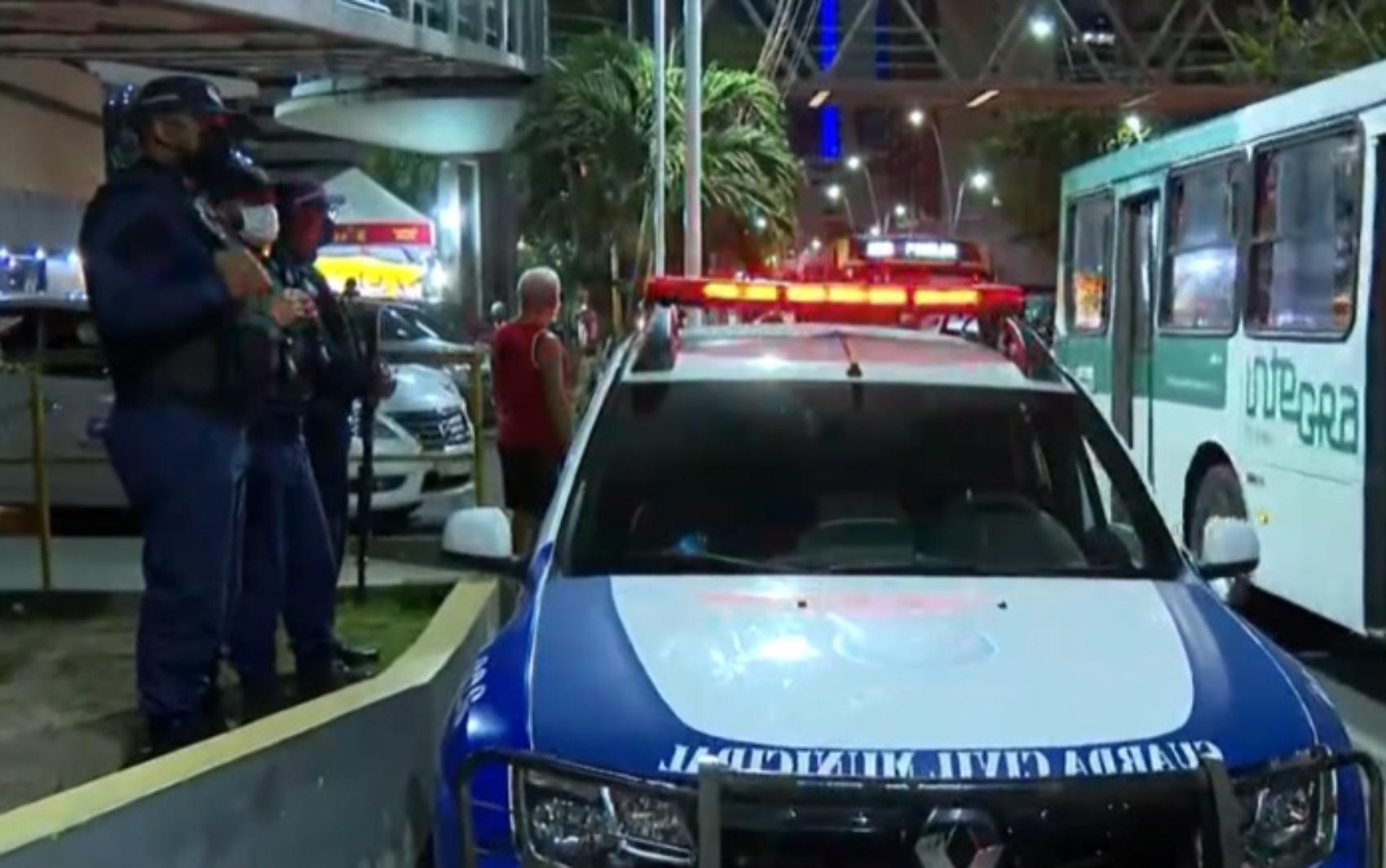 Guarda Municipal inicia operação para aumentar segurança em pontos de ônibus de Salvador