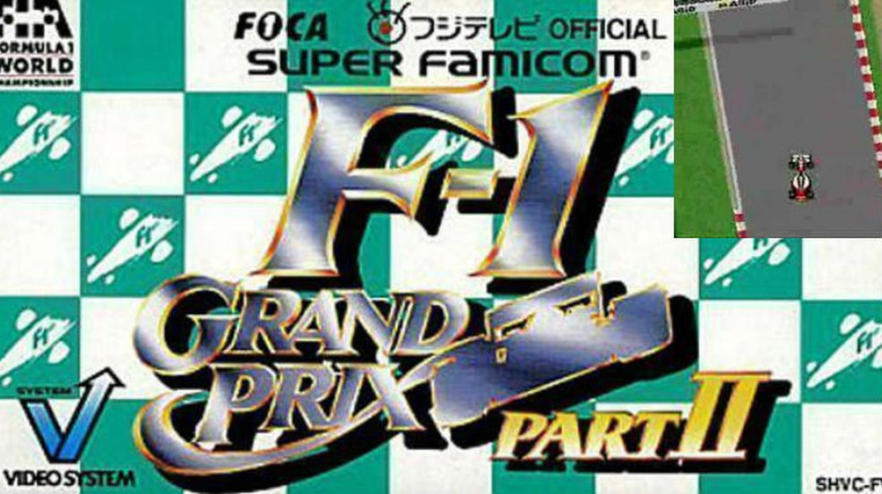 Os jogos do Ayrton Senna: F1 Grand Prix Part II — Foto: Divulgação / VideoSystem