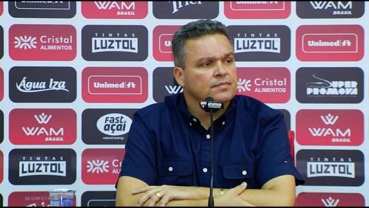 Adson Batista elogia Barroca e espera empenho para garantir o acesso