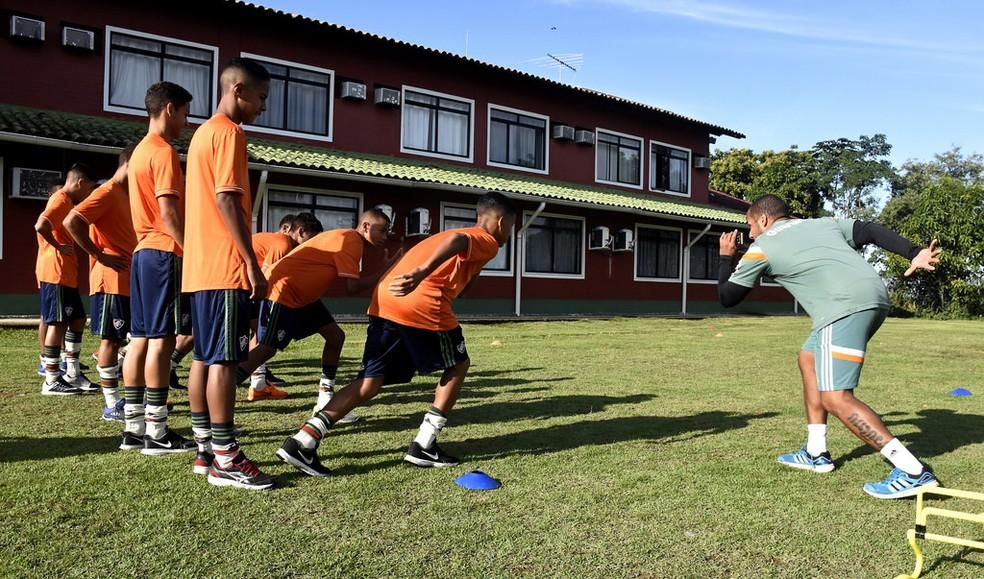 CT do Fluminense, em Xerém — Foto: Divulgação