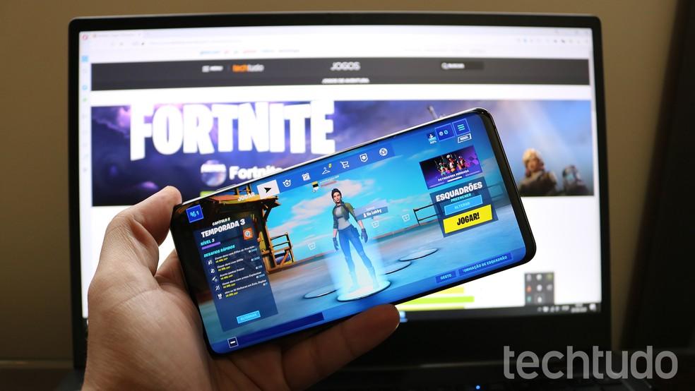 Fortnite pode ser instalado em celulares da Samsung com acesso à Galaxy Store — Foto: Filipe Garrett/TechTudo