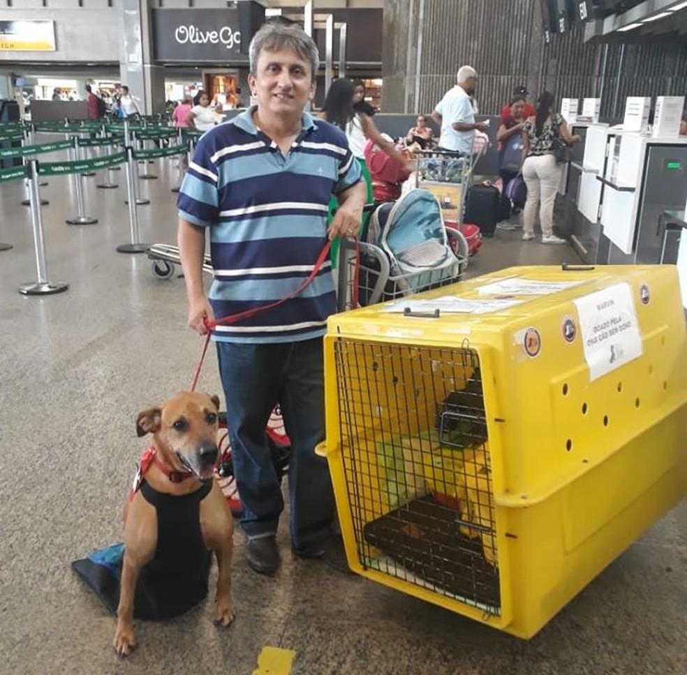 Everton Holanda saiu do RN para adotar Marvin em São Paulo — Foto: Arquivo pessoal