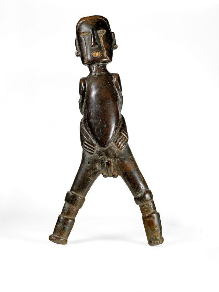 Estátua de Boinayel, deus da chuva (Foto: Reprodução British Museum)