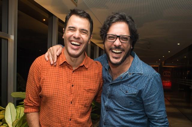 Lucio Mauro Filho e Claudio Lins (Foto: Carlos Erbs)