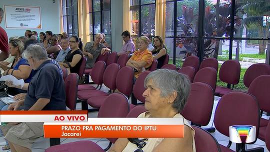 Carnês do IPTU começam a vencer nesta quinta-feira em Jacareí, SP