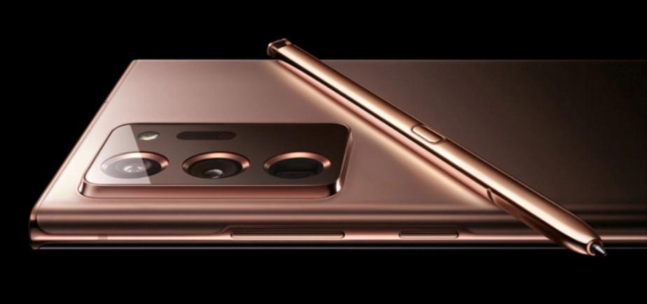 Samsung marca lançamento do Galaxy Note 20