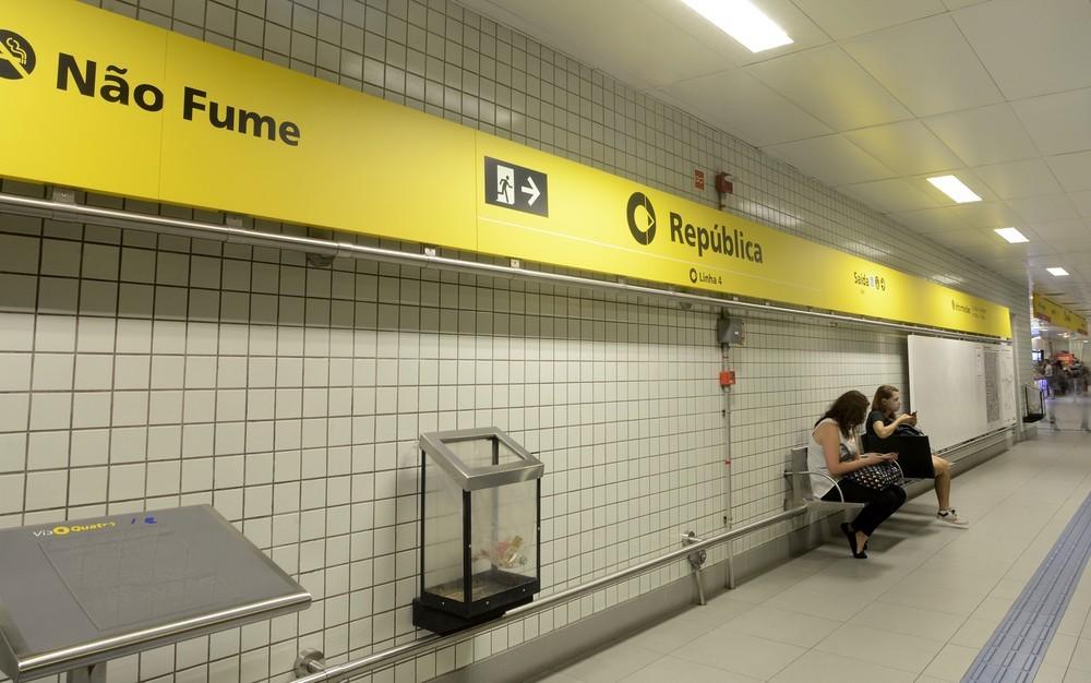 Quatro estações do Metrô de SP fecham neste domingo