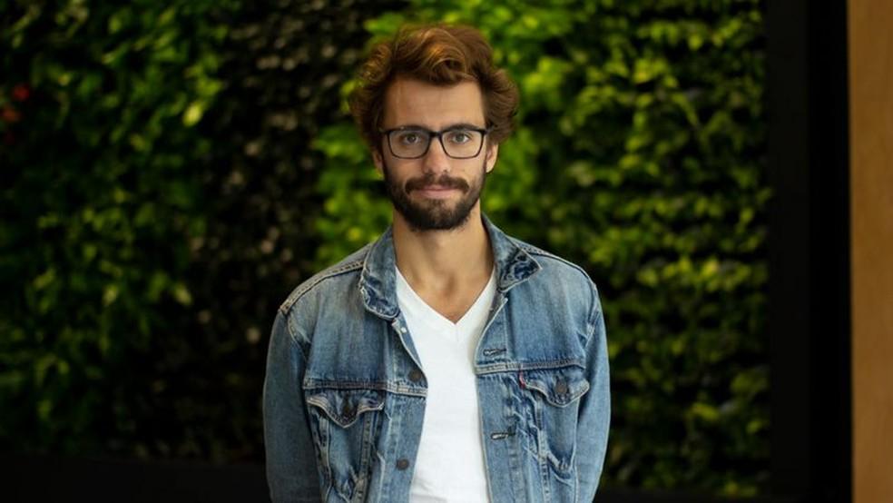 Delian Asparouhov é um dos empreendedores que se mudou para Miami — Foto: BBC