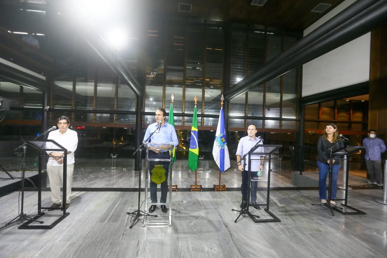 Governador do Ceará vai prorrogar decreto de isolamento e avalia medidas ainda mais rígidas contra Covid-19