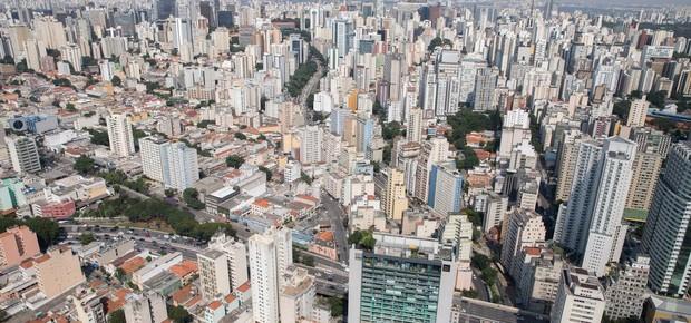 Vista aérea de São Paulo (Foto: Diogo Moreira/Divulgação Governo de São Paulo, via Agência Brasil)