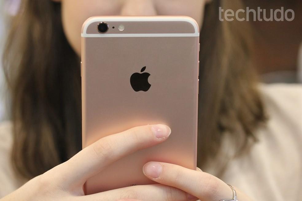 c3d2bd3156 ... Veja que cuidados tomar ao comprar um iPhone refubished — Foto  Lucas  Mendes TechTudo