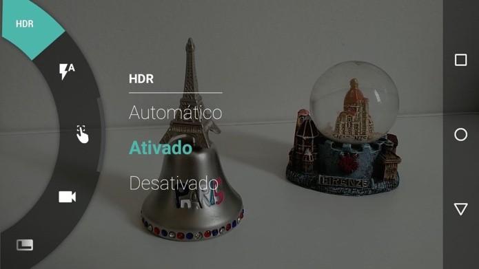 Ative o HDR para fotografar melhor em ambientes escuros (Foto: Reprodução/Paulo Alves)