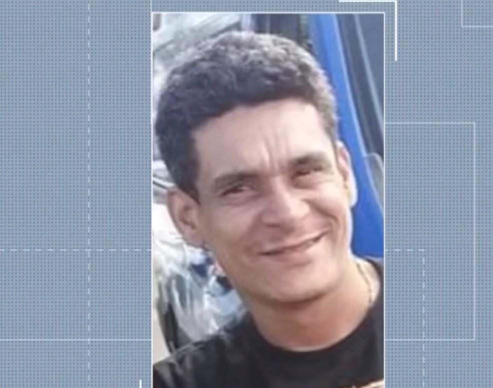 PM suspeito de matar fotógrafo na BA se apresenta à polícia e é liberado — Foto: Reprodução/TV Santa Cruz