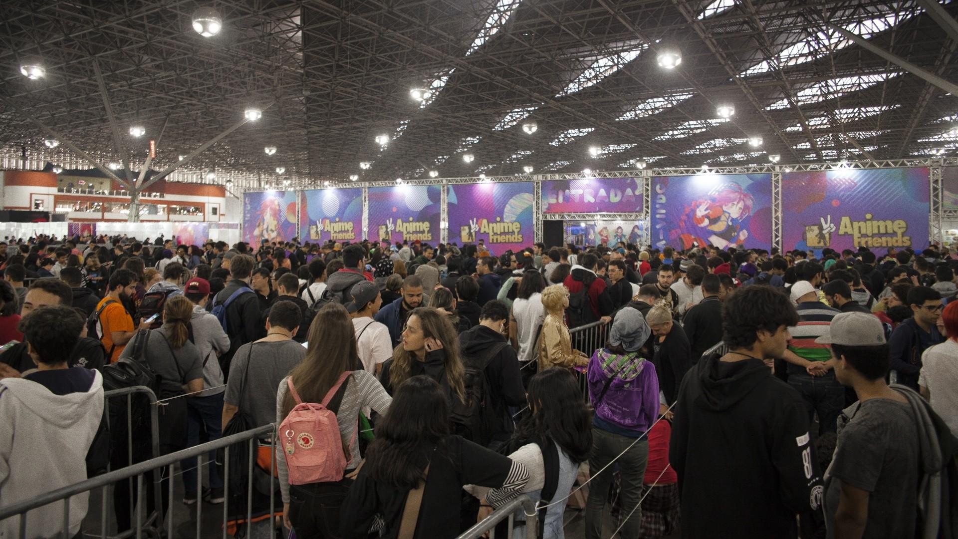 Anime Friends 2019 leva 60 mil pessoas ao Anhembi; veja FOTOS - Notícias - Plantão Diário