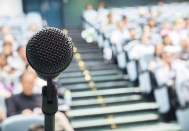 Carreira ; apresentação em público ; falar diante da plateia ;  (Foto: ThinkStock)
