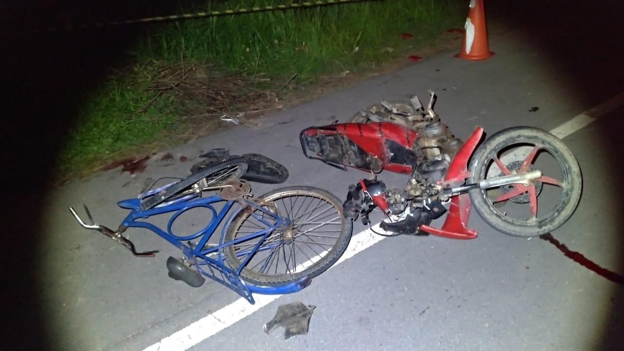 Ciclista morre atropelado após bater em motocicleta na AL-101 Norte