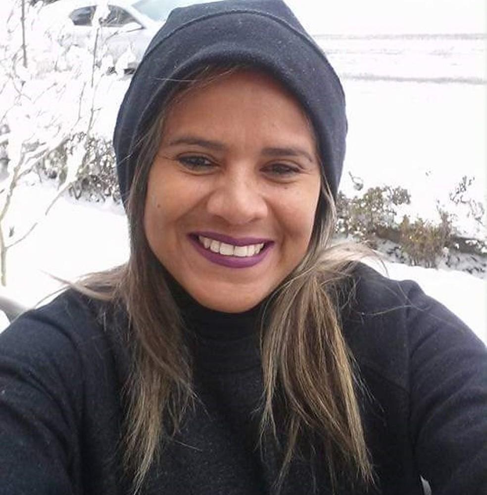 Cearense Neurilene da Silva Moura, 41, morreu na cidade de Bulle, na Suíça e causa segue desconhecida. — Foto: Arquivo pessoal