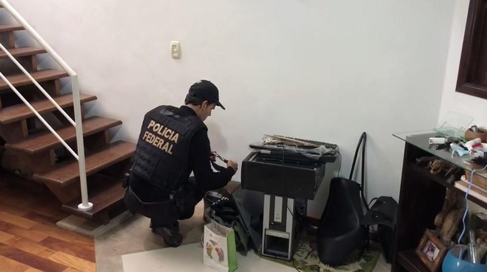 Polícia Federal cumpre 68 mandados em nove estados — Foto: Divulgação/Polícia Federal