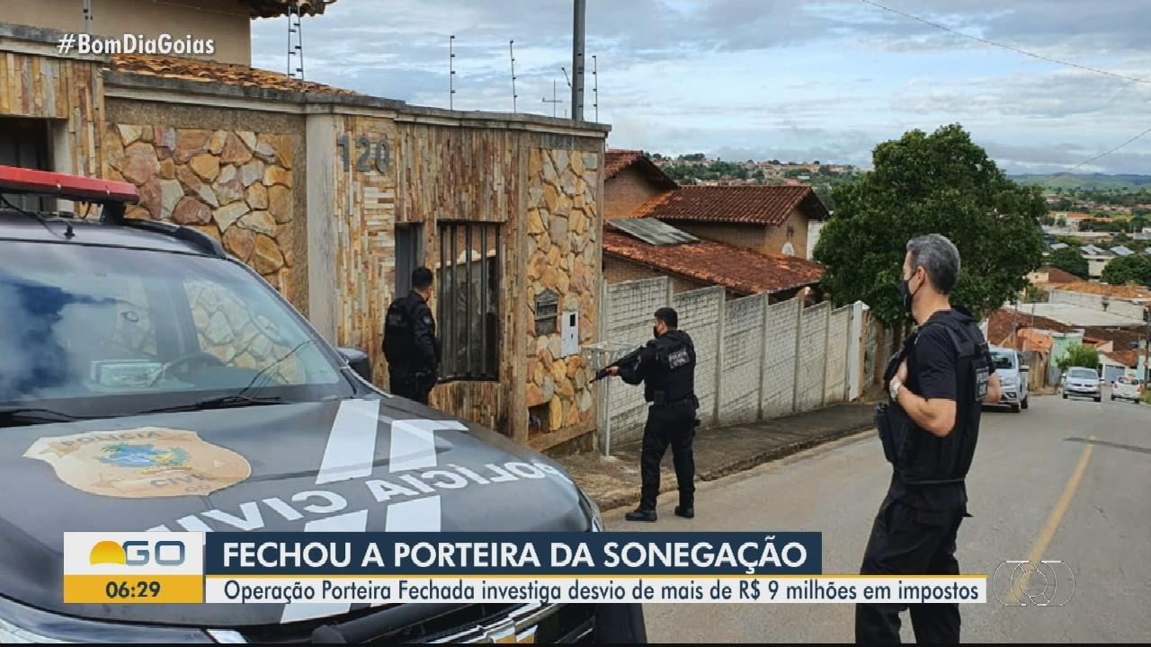 Operação é realizada contra sonegação de impostos em Goiás