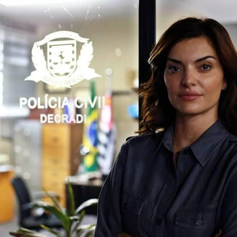 """Mayana Neiva em """"Rotas do ódio"""" (Foto: Divulgação)"""