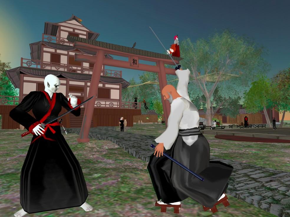 Second Life tem jogos virtuais de diversos gêneros dentro do simulador — Foto: Reprodução/Felipe Vinha