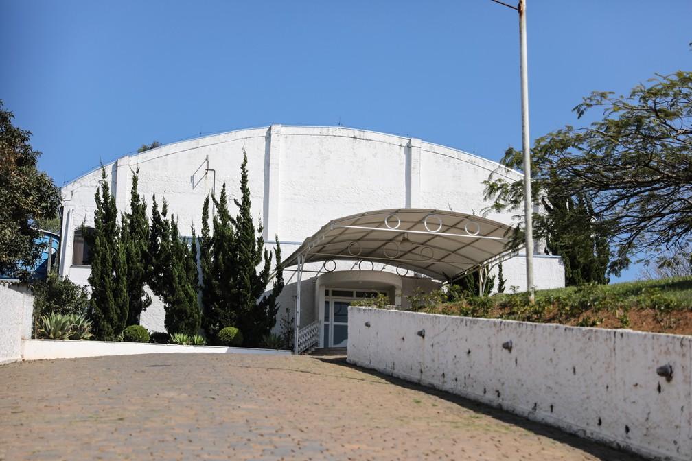 Ministério Evangélico Comunidade Rhema é filial paulista de igreja norte-americana acusada de escravizar brasileiros (Foto: Fábio Tito/G1)