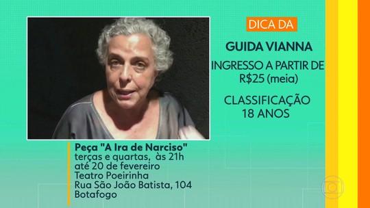 """Dicas de casa: peça """"A Ira de Narciso"""", com Gilberto Gawronski, e o musical 'Gonzaguinha: O Eterno Aprendiz'"""