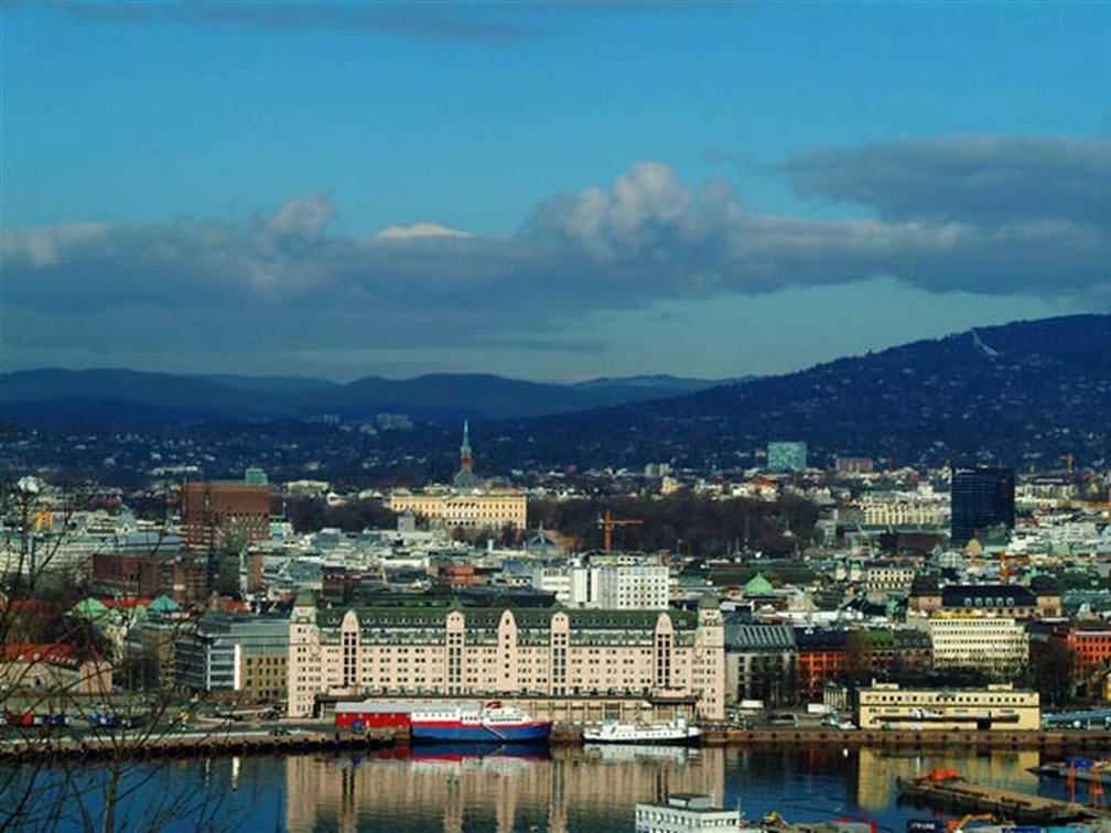 Oslo, na Noruega, país que aparece no topo do ranking de IDH — Foto: Nancy Bundt/www.visitnorway.com