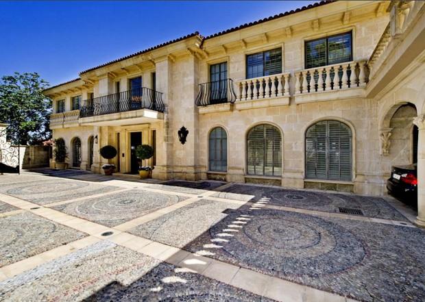 Em viagem, príncipe Harry e Meghan devem ficar em mansão avaliada em R$157 milhões  (Foto: Reprodução / Lila Delman Real Estate)