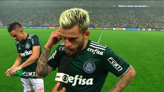 "Lucas Lima analisa primeiro jogo da final contra o Corinthians: ""Foi excelente"""