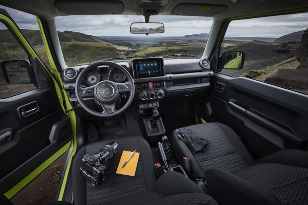 Suzuki Jimny Sierra (Foto:  Divulgação)