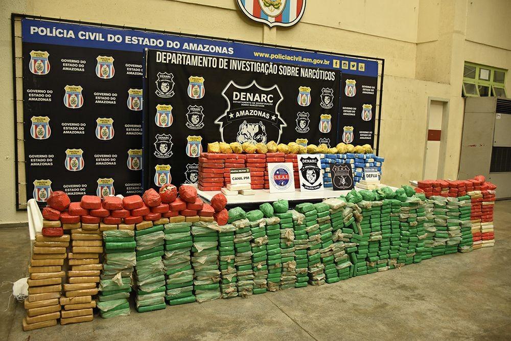 Em 2 meses, mais de duas toneladas de drogas são apreendidas no AM