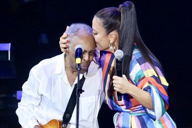 Gilberto Gil e Ivete Sangalo (Foto: Manuela Scarpa/Brazil News)