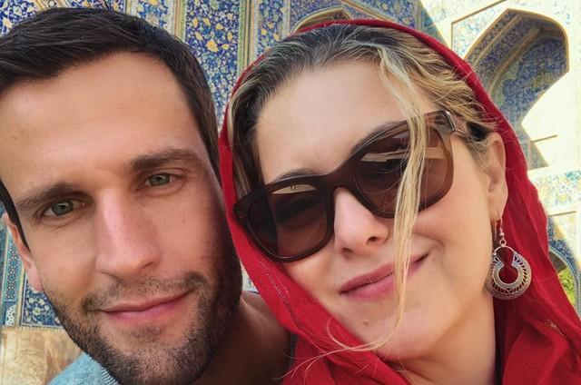 Pedro Andrade e Tatiana Issa (Foto: Arquivo pessoal)