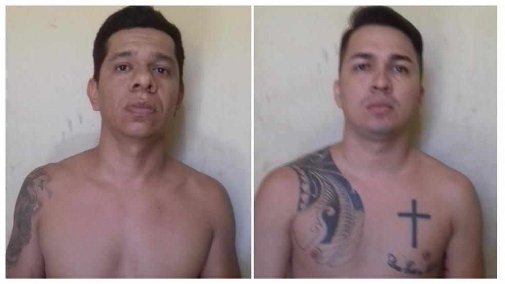 Manoel Ferreira do Carmo Junior e Leandro Daniel Viana Lopes  — Foto: Polícia Civil/Divulgação