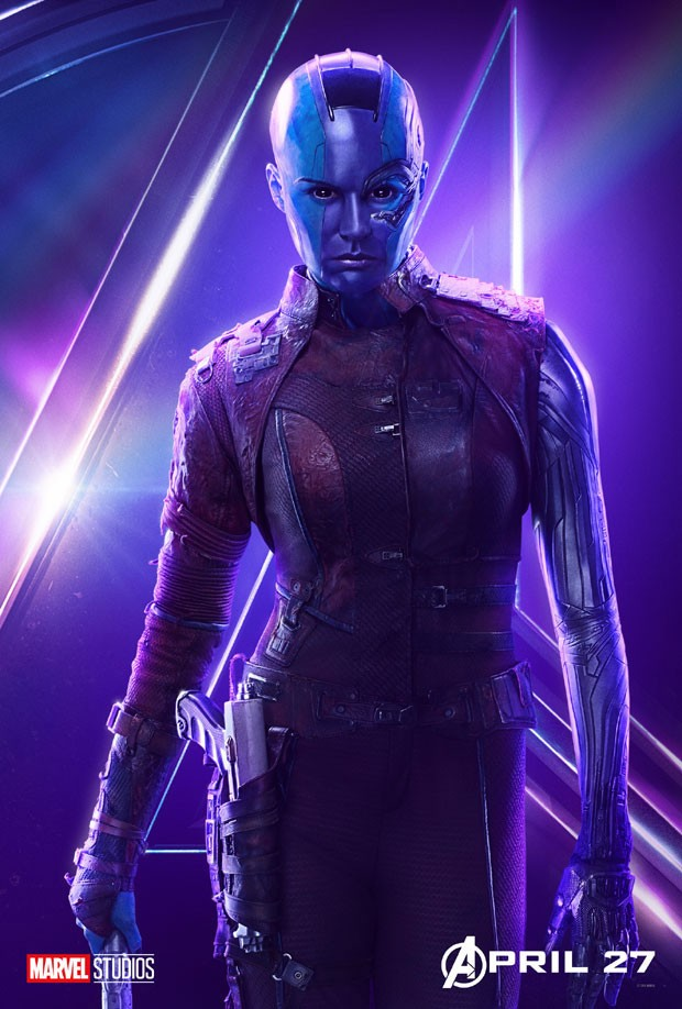 Karen Gillian, a Nebula de Vingadores: Guerra Infinita (Foto: Divulgação/Disney)
