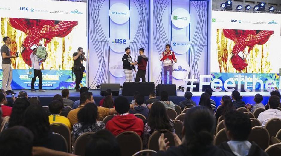 Campus Party: jovens apresentaram inovações no evento (Foto: Agência Brasil)
