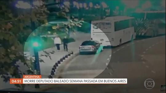 Morre deputado baleado em Buenos Aires