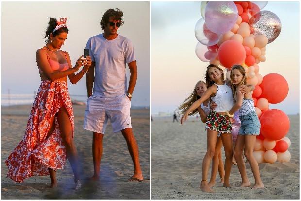 Alessandra Ambrosio celebrates birthday of his daughter (photo: Backgrid, USA