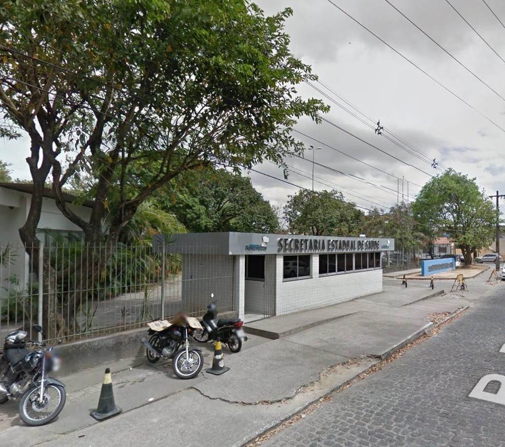 Secretaria de Saúde de Pernambuco divulgou boletim epidemiológico nesta quinta (5) (Foto: Reprodução/Google Street View)