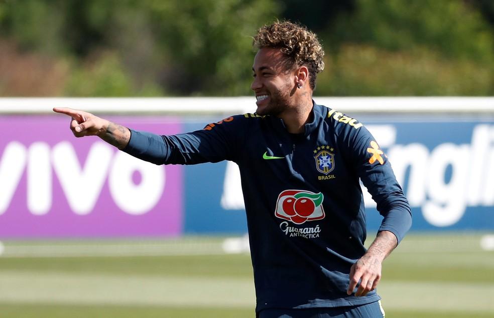 Neymar será titular contra a Áustria (Foto: Reuters/Mathew Childs)