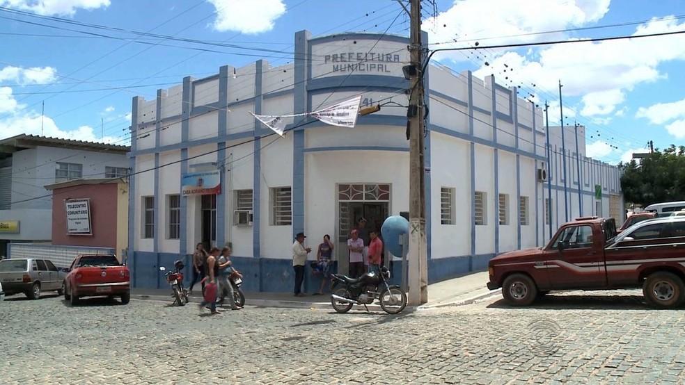 Prefeitura de Princesa Isabel — Foto: Reprodução/TV Paraíba
