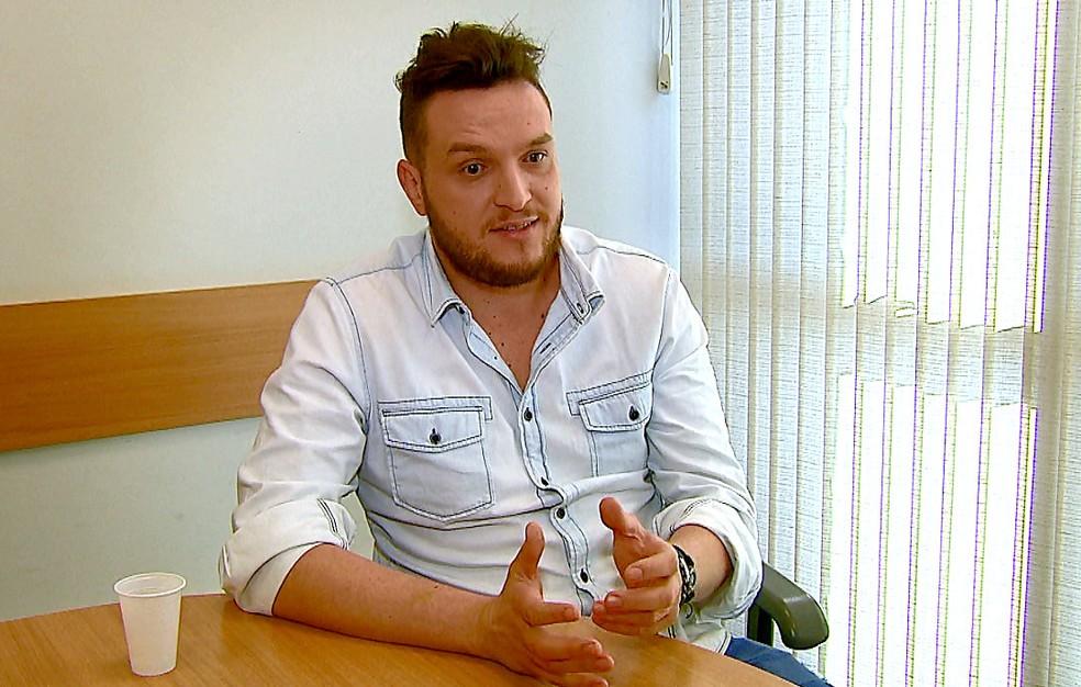 Rossetto contou que gravou o vídeo há mais de um mês (Foto: Ely Venâncio/EPTV)