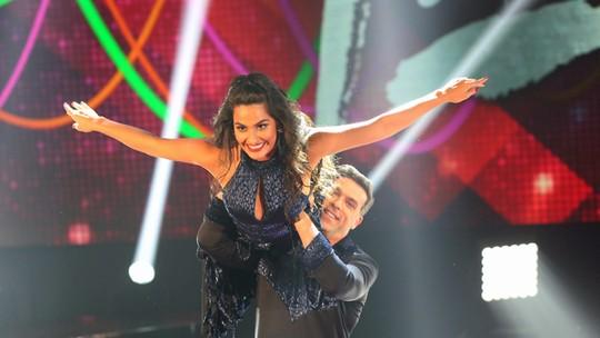 Marcelinho arrisca acrobacia ao ritmo de zouk no 'Dança dos Famosos'