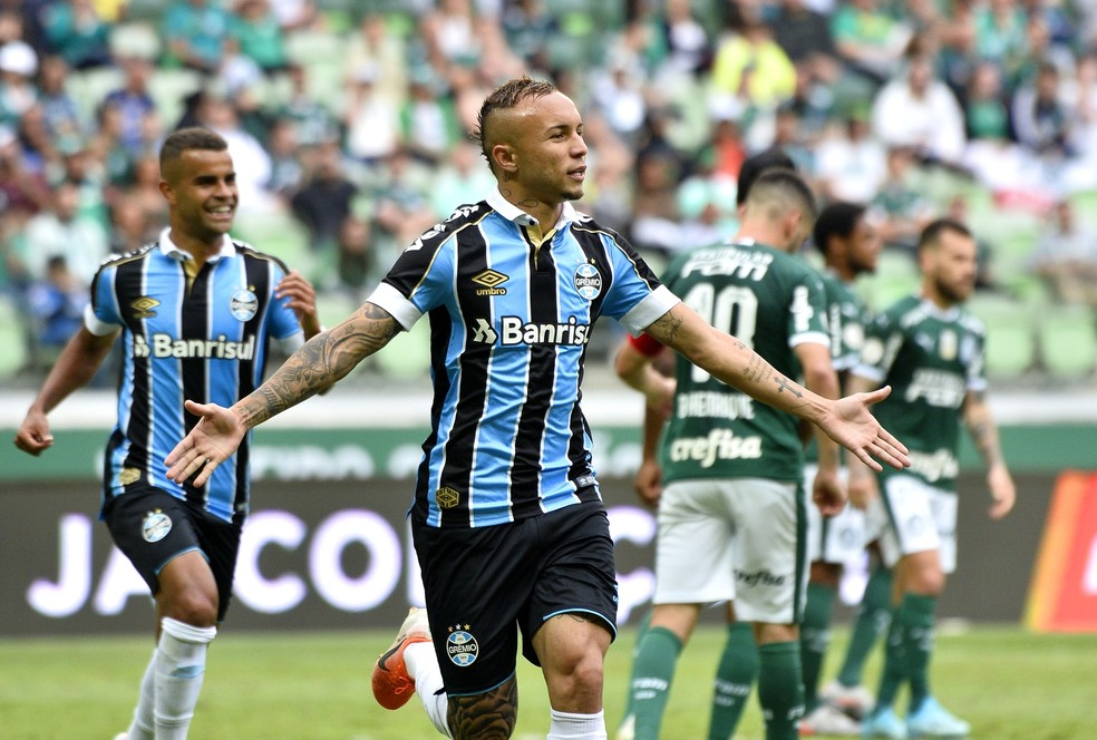 Everton foi o destaque em 2019 — Foto: Marcos Ribolli